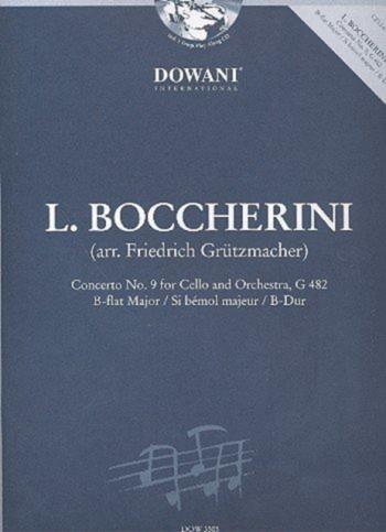 Cello Concerto Bb Major No.9: Bb: Cello: Book & CD (Dowani)