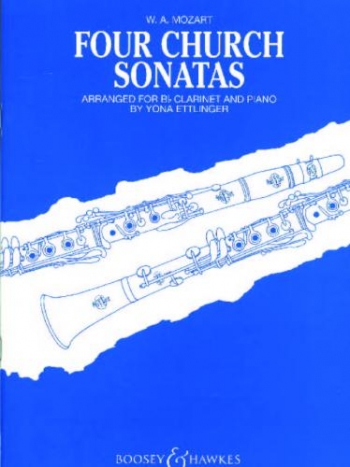 Four Church Sonatas: Clarinet & Piano (Boosey & Hawkes)