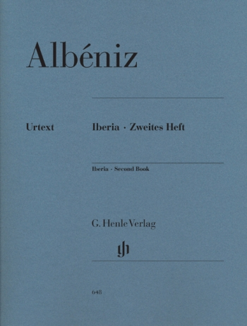 Iberia Second Book Piano Solo (Henle)