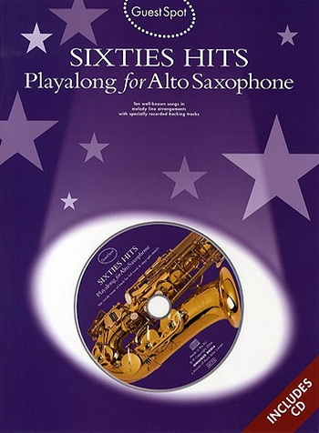 Guest Spot: Sixties Hits: Alto Sax: Book & CD