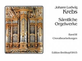 Chorale Setting: Vol.3 Organ (Breitkopf)