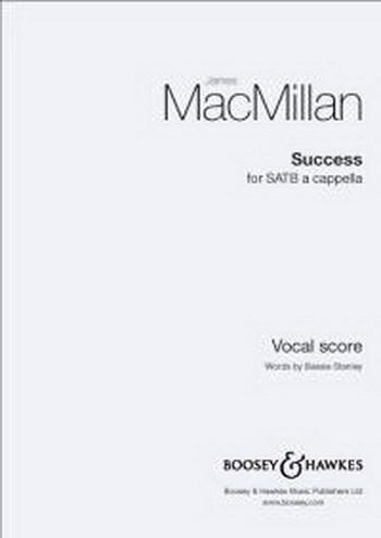 Macmillan: Success: Satb: Vocal
