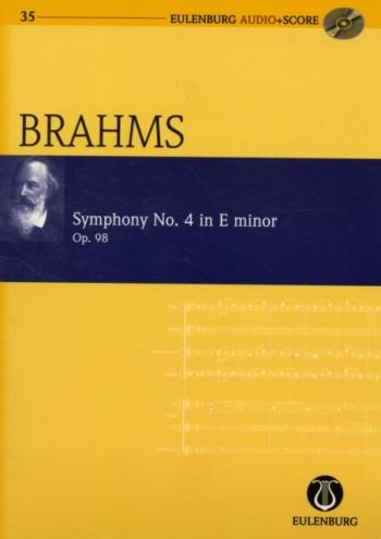 Symphony No 4: E Minor: Op98 : Miniature Score (Audio Series No 35)