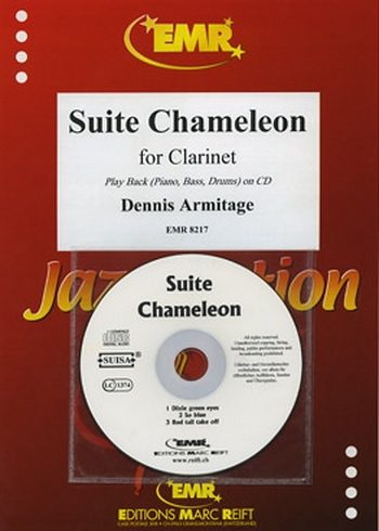 Suite Chameleon: Clarinet & Piano Book & CD