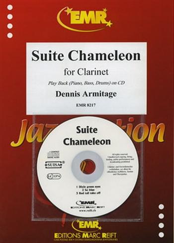 Suite Chameleon: Clarinet & Piano Book & CD