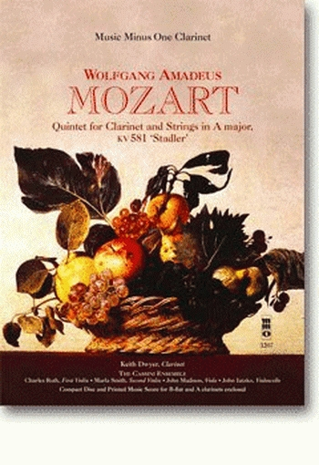 Mozart: Quintet For Clarinet and Strings: A Major: Kv581:  Piano: Bookand2cd (mmo)