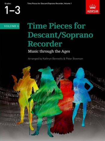Time Pieces For Descant Recorder Vol.1: Recorder & Piano (ABRSM)