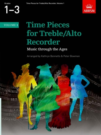 Time Pieces For Treble Recorder Vol.1: Recorder & Piano (ABRSM)