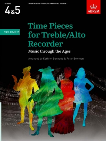 Time Pieces For Treble Recorder Vol.2: Recorder & Piano (ABRSM)