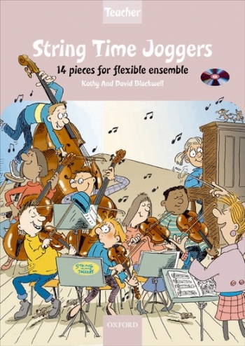 String Time Joggers: Teachers Pack: 14 Pieces Flexible Ensemble Score & Cd (Blackwell)