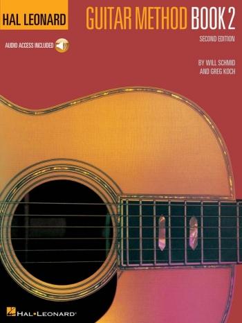 Hal Leonard Guitar Method Book 2: Guitar: Tutor: Bk&cd