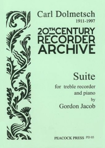 Suite: Treble Recorder Or Flute and Piano Or Strings