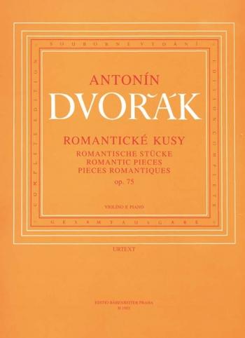 Romantic Pieces Op.75: Violin And Piano  (Barenreiter)