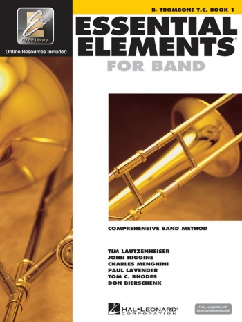 Essential Elements 2000: Book 1: Trombone: Treble Clef: Book & Cd