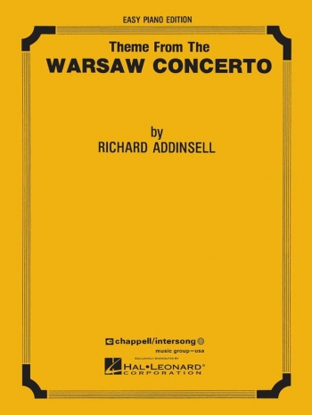 Warsaw Concerto: Easy Piano(addinsell)