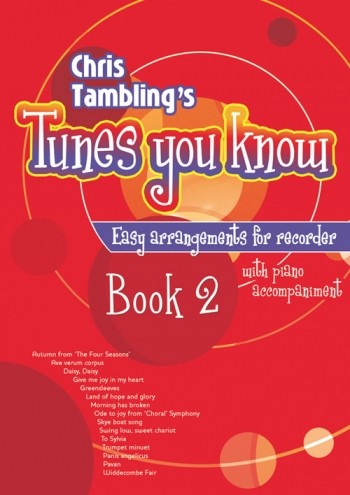 Tunes You Know: Book 2: Descant Recorder and Piano