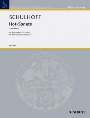 Hot-sonata : Alto Saxophone & Piano