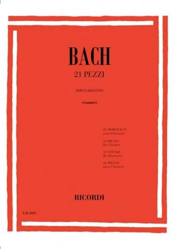 21 Pieces: 21 Pezzi: Study: Clarinet  (giampieri)  (Ricordi)