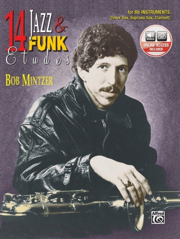 14 Jazz and Funk Etudes: Bb Instruments: Book & CD