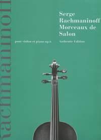 Morceaux De Salon: Violin and Piano