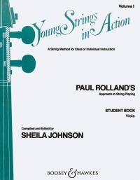 Young Strings In Action Vol.1: Viola (roland)