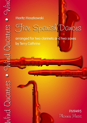 Moszkowski: Five Spanish Dances: 2 Clarinets and 2 Saxes (cathrine/Phoenix)