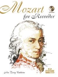 Mozart For Recorder: Descant Recorder (Fentone)