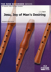 Jesu Joy Of Mans Desiring: Recorder Trio: Descant, Treble, Tenor