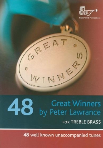 Great Winners: Treble Brass: Treble Clef: Book & Cd (lawrance)