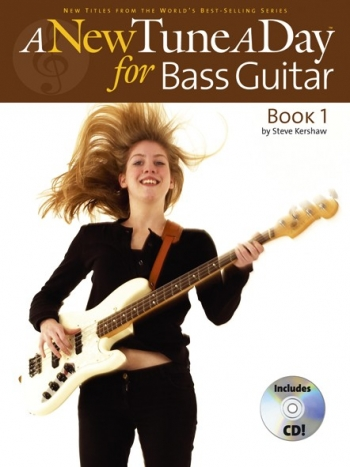 New Tune A Day: Bass Guitar: Book & CD