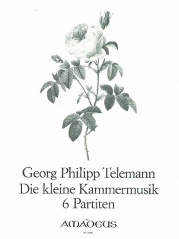 6 Partitas: Treble Recorder and Piano (Flute, Violin Or Oboe)