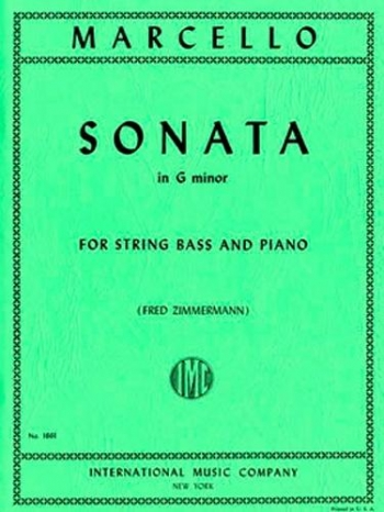 Sonata: G Minor: Double Bass