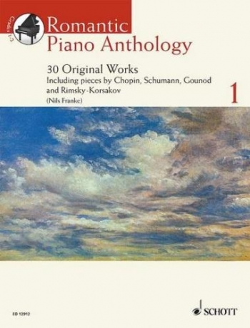 Romantic Piano Anthology: Vol.1: 30 Original Works:  Book & Cd