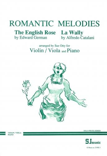 Romantic Melodies: Violin Or Viola And Piano