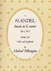 Sonata In G Minor Op1 No 6: Viola and Piano