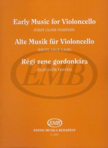 Early Music For Cello  and Piano