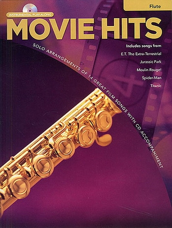 Instrumental Play-along: Movie Hits: Flute: 14 Film Songs: Book & CD