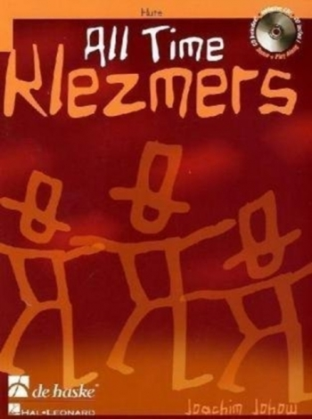 All Time Klezmers: Flute: Book & CD