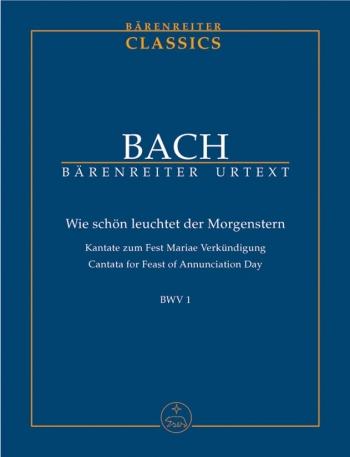 Cantata For The Feast Of Annunciation Day Study score (Barenreiter)