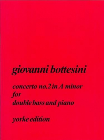 Concerto A Minor No.2 Double Bass (Yorke)
