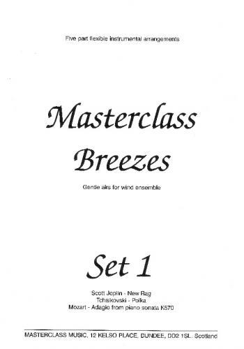 Masterclass Breezes: Set 1: 5 Part Flexible Ensemble: Score and Parts