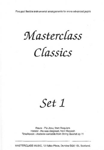 Masterclass Classics: Set 1: 5 Part Flexible Ensemble: Score and Parts