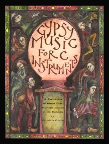 Gypsy Music For C Instruments: Top Line and Chords