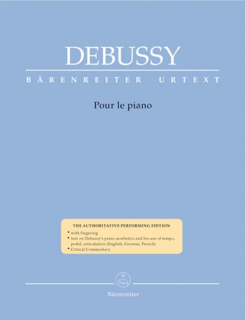 Pour Le Piano: Urtext: Piano  (Barenreiter)