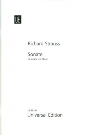 Sonata Eb Major Op.18 (1887): Violin & Piano (Universal Edition)