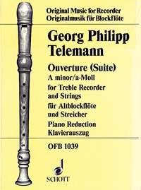 Overture: A Minor: Treble Recorder and Piano