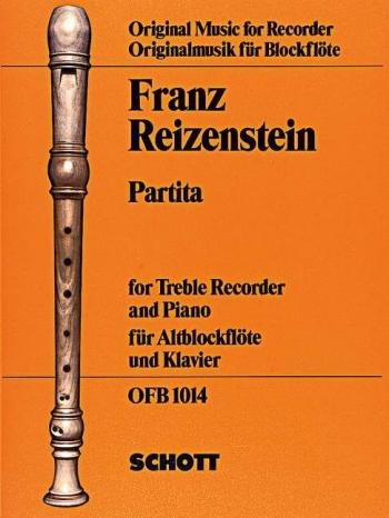 Partita : Treble Recorder and Piano