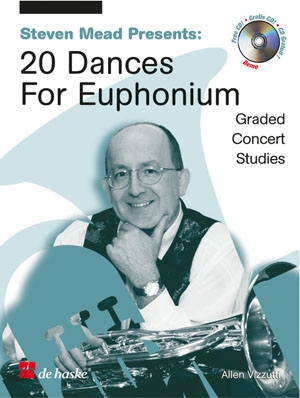 20 Dances For Euphonium Treble Clef: Studies: Book & CD (Steven Mead)