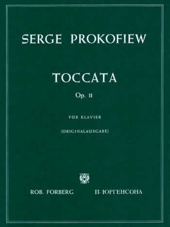 Toccata: Op.11: Piano (Peters)