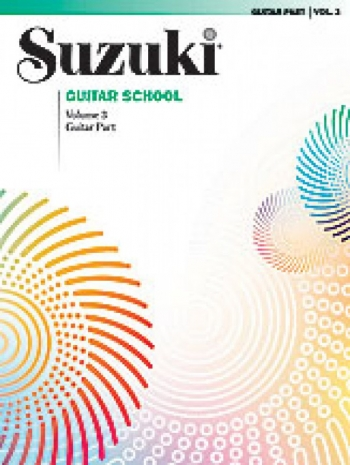 Suzuki Guitar School Vol 3 Guitar Part